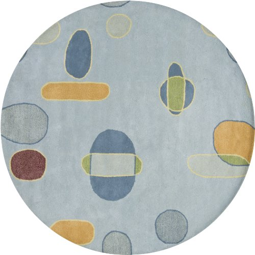Chandra Lost Link LOS1813-79RD 7-Feet 9-Inch Round Area Rug (Chandra Lost Link)