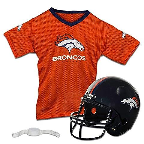 Franklin Sports NFL Denver Broncos Replica Youth Helmet and Jersey Set - Atlanta Falcons Helmet