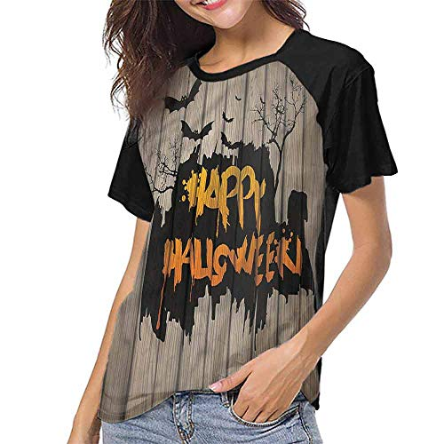Women Summer Streetwear,Halloween,Quote Bats Art S-XXL for Women Super Mom -