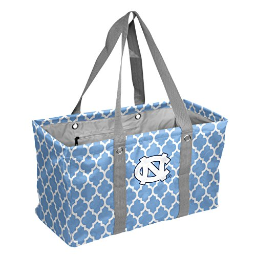 - Logo Brands Collegiate Large Collapsible Picnic Tote North Carolina Tar Heels, Powder, One Size