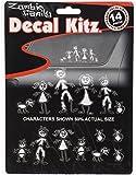 Chroma 5389 Zombie Family Decal Kit