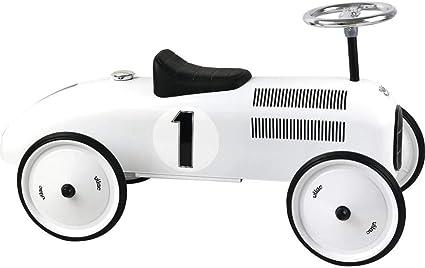 Vilac Vintage Ride On Car, Metal Speedster. 30