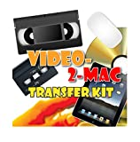 VHS and Camcorder Video Capture Kit. For Mac OSX. Works with Mojave (10.14), High Sierra, Sierra, El Capitan. Links your VCR or Camcorder to your Apple Mac. Convert VHS, S-VHS, VHS-C, Hi8, Digital8, Video8, Mini-DV.
