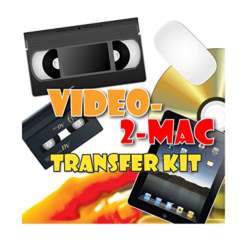 VHS & Camcorder Video Capture Kit. For Mac OSX. Works with High Sierra, Sierra, El Capitan. Links your VCR or Camcorder to your Apple Mac. Convert VHS, S-VHS, VHS-C, Hi8, Digital8, Video8, Mini-DV.