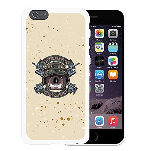 WoowCase Hülle Case für { iPhone 6 Plus 6S Plus } Handy Cover Schutzhülle Militärischer Hund