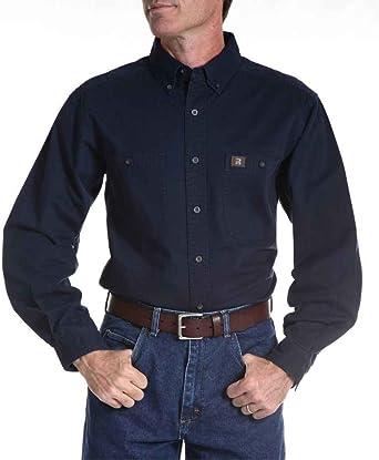 Wrangler Riggs Workwear Camisa de Registro para Hombre: Amazon.es: Ropa y accesorios