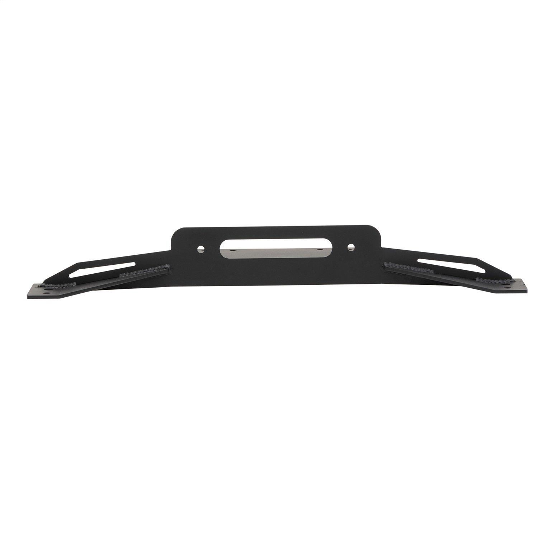 Smittybilt Winch Plate for TJ/YJ/LJ factory bumpers , Black - 2802