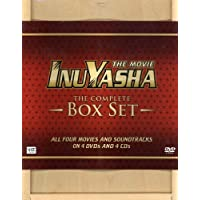 Deals on Inuyasha: The Movie: Complete 4-Film Wooden Boxed Set w/Soundtracks
