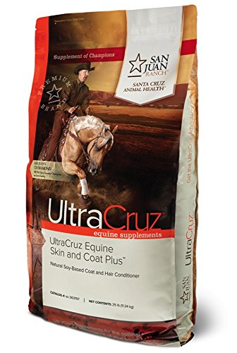 UltraCruz Horse Skin and Coat Plus Supplement, 25 pounds by UltraCruz