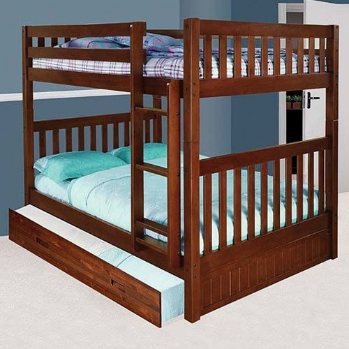 over bunk bed