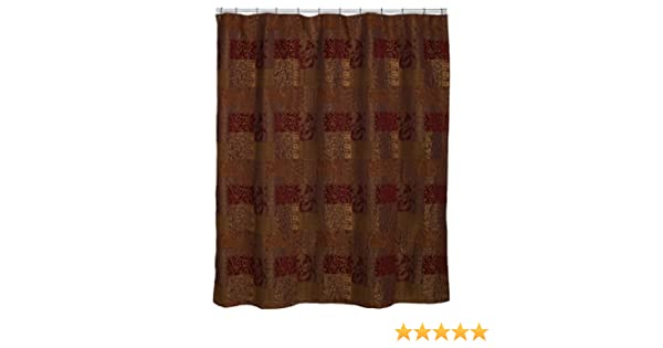 Amazon.com: Croscill Opulence 72-by-75-Inch Shower Curtain: Home ...