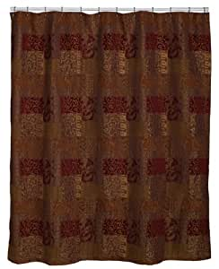 Croscill Opulence 72-by-75-Inch Shower Curtain