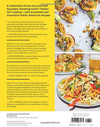 Indian-ish: Recipes and Antics from a Modern American Family: Priya
