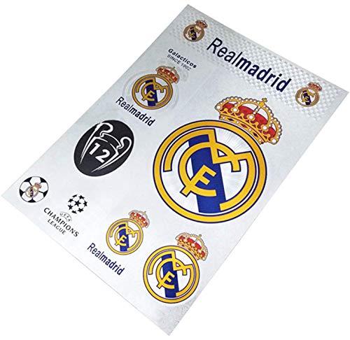 RMCF Madrid Football Club Soccer Team Logo Sticker Decal for ()