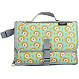 Anvy & Me Diaper Changing Clutch with Changing Pad for Baby Infants and Toddlers Nursery Travel Accessories. (Circles Fun)