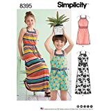 Simplicity Girl's Romper and Halter Dress Sewing