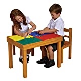 Liberty House Toys Multi-purpose Wooden Table and Chairs Set