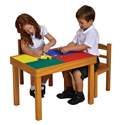 - Liberty House Toys Multi-Purpose Wooden Table and Chairs Set