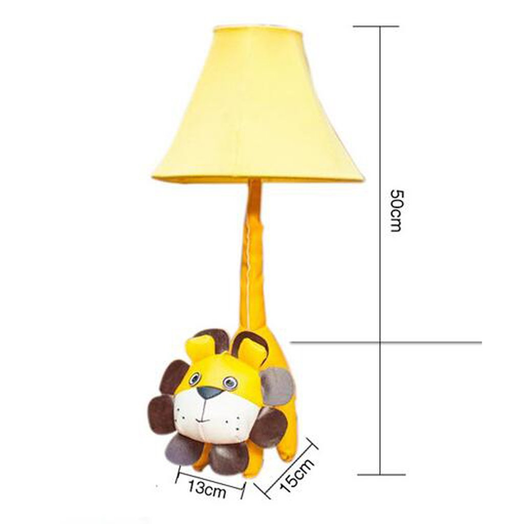 Kreative Karikatur Meng Löwe Leder Stoff Tischlampe niedlichen niedlichen niedlichen Kinder Schlafzimmer Schlafzimmer Lichter B072VDD7PQ | Preisreduktion  ec3253