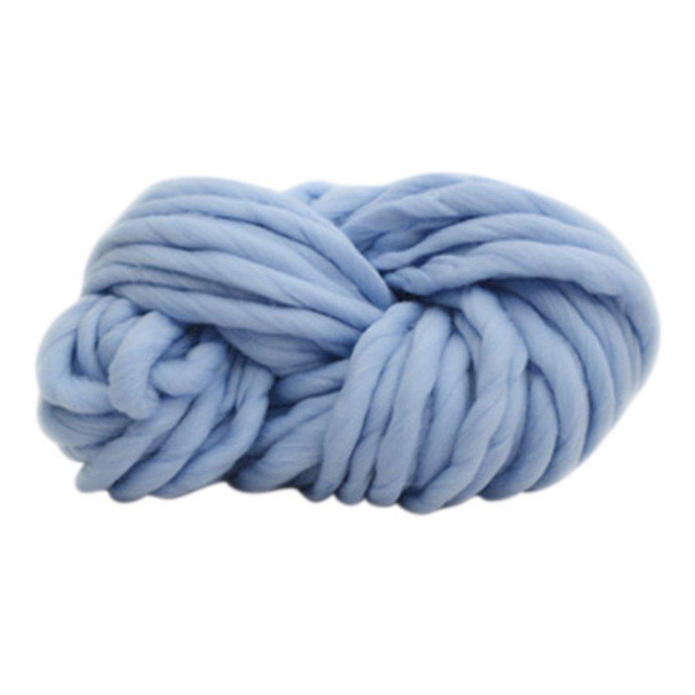 Bornbayb 250g / 0.55lb Natü rliche Wolle Top Roving Faser Spin fü r Nadelfilz Hand Spinning DIY Craft Projekte