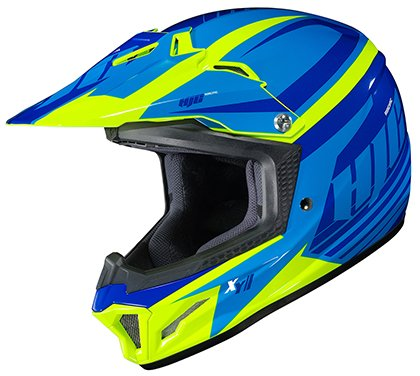 HJC Unisex-Child Off Road CL-XY II Bator Helmet (MC-3H, Medium)