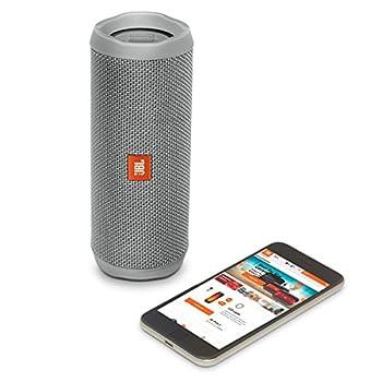 Jbl Flip 4 Waterproof Portable Bluetooth Speaker (Gray) 9