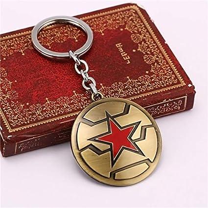 Amazon.com: Value-Smart-Toys - HF Captain America Keychain ...