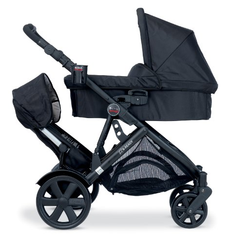 Amazon.com : Britax Second Seat for B-Ready Stroller, Black : Baby Stroller  Accessories : Baby
