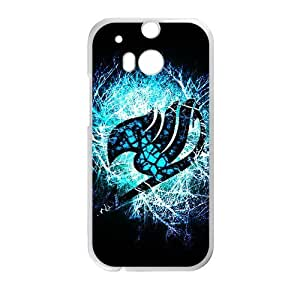 Blue shiny Fairy Tail Cell Phone Case for HTC One M8