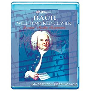 Bach: Well Tempered Clavier (complete) - [7.1 DTS-HD Master Audio Disc] [Blu-ray]