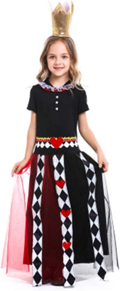 YANZZ Halloween Disfraz de Cosplay Infantil,Cuento de Hadas Alicia ...