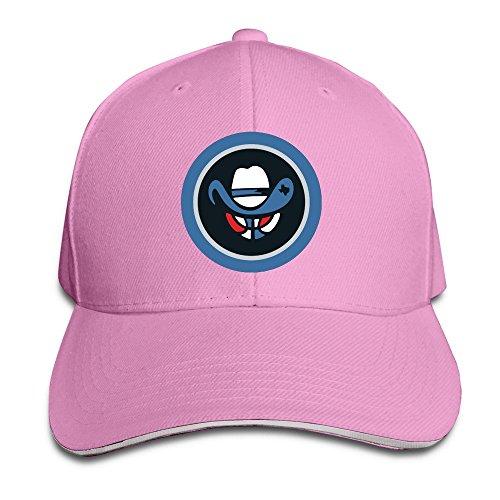 (Texas Basketball Cowbosy Pink Adjustable Flat Caps Unisex Sandwich Hats)