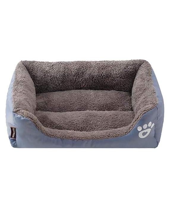 Flairstar Cama de Perro Gato de Mascotas Otoño Invierno Cama Peluche Cueva Gato Perro: Amazon.es: Productos para mascotas