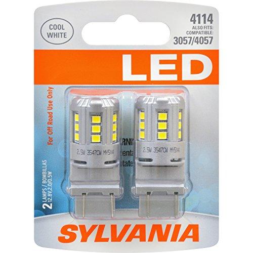 SYLVANIA 4114 White Contains Bulbs