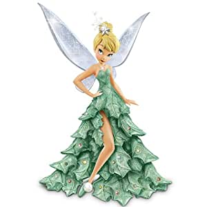 Bradford Exchange Disney Tinker Bell Christmas Figurine