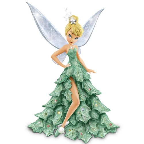 Bradford Exchange Disney Tinker Bell Christmas Figurine