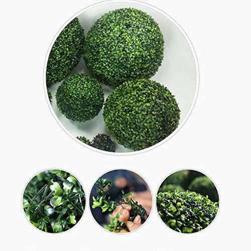 (Bestseller4289 Artificial Hanging Boxwood Topiary Buxus Ball Grass Garden House 30/40CM Decor)