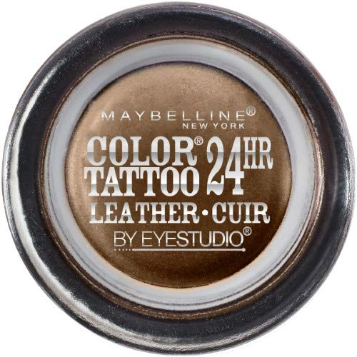 o Color Tattoo Leather 24Hr Cream Gel Eyeshadow, Chocolate Suede, 0.14 Oz. (Pack of 2) ()