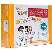 Yellow Scope - Foundation Chemistry Kit: Dozens of STEM Experiments That Take Girls Seriously
