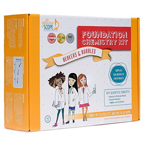 Yellow Scope - Foundation Chemistry Kit: Dozens of STEM...