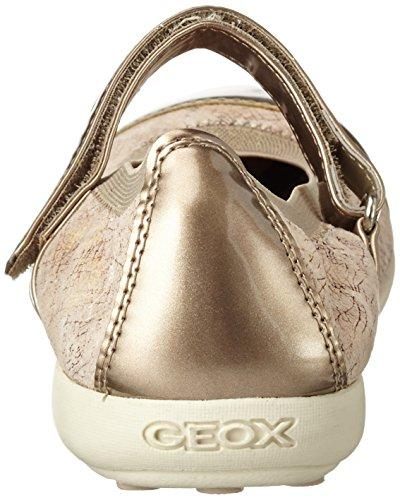 Geox Jr Jodie B, Bailarinas Para Niñas Beige (Beigec5000)