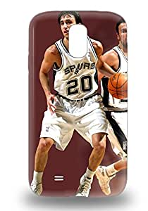 Fashion Protective NBA San Antonio Spurs Manu Ginobili #20 3D PC Case Cover For Galaxy S4 ( Custom Picture iPhone 6, iPhone 6 PLUS, iPhone 5, iPhone 5S, iPhone 5C, iPhone 4, iPhone 4S,Galaxy S6,Galaxy S5,Galaxy S4,Galaxy S3,Note 3,iPad Mini-Mini 2,iPad Air )