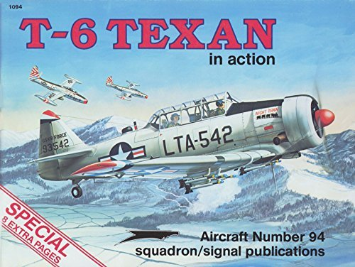 T-6 Texan in action - Aircraft No. 94