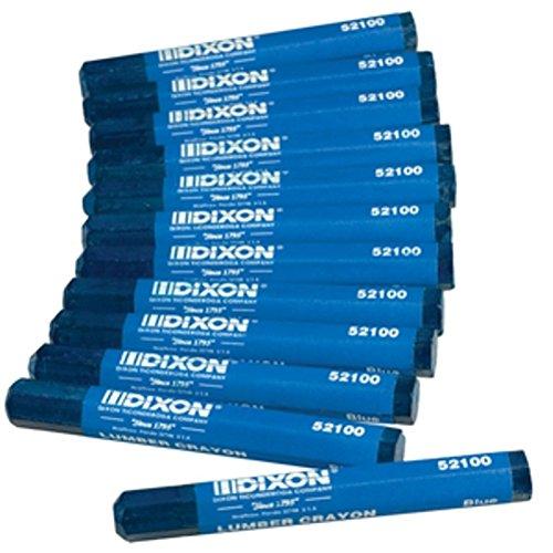 Dixon Industrial Lumber Marking Crayons, 4.5