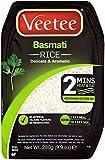 VeeTee - Basmati Rice - Microwavable Rice, 280g (Pack of 6)