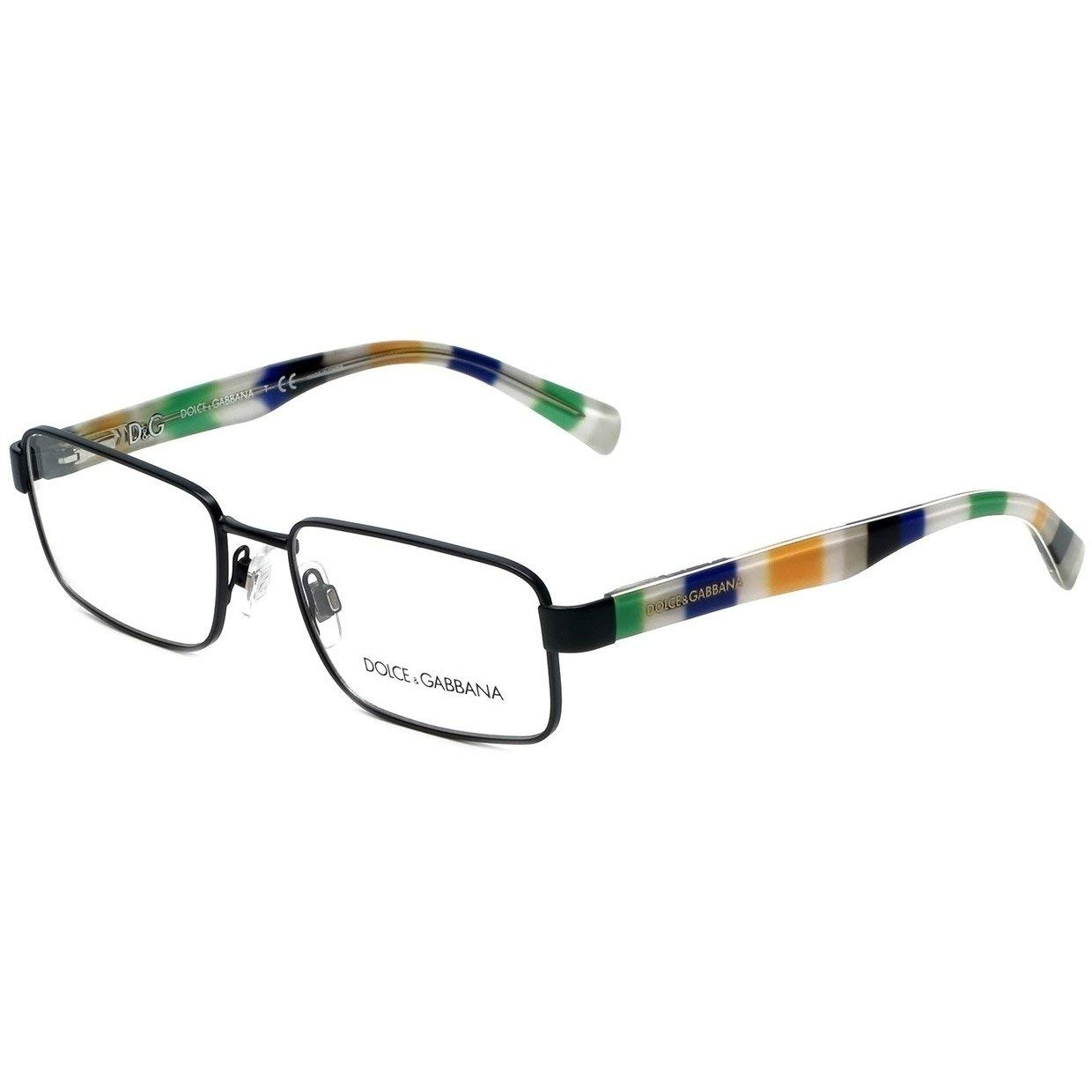 Dolce /& Gabbana Eyeglasses D/&G 1238P 1238//P 1237 Matte Black Optical Frame 54mm