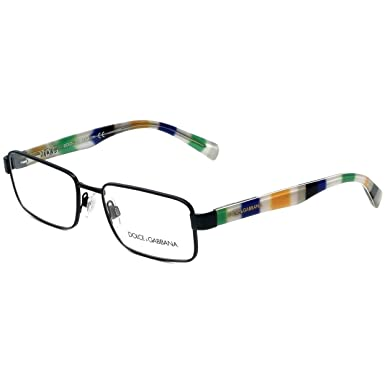 1f20138a3b0 Image Unavailable. Image not available for. Color  Dolce   Gabbana  Eyeglasses D G 1238P 1238 P 1237 Matte Black Optical Frame 54mm