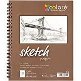 Colore 9x12-Inch Spiral Sketch Pad (1 Pack)