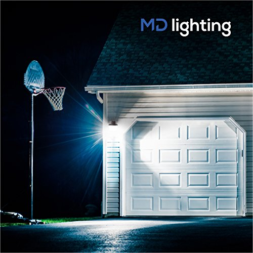Reisterstown Md Bank Barn With Garage: Outdoor LED Flood Light W/ Dusk-to-Dawn Photocell