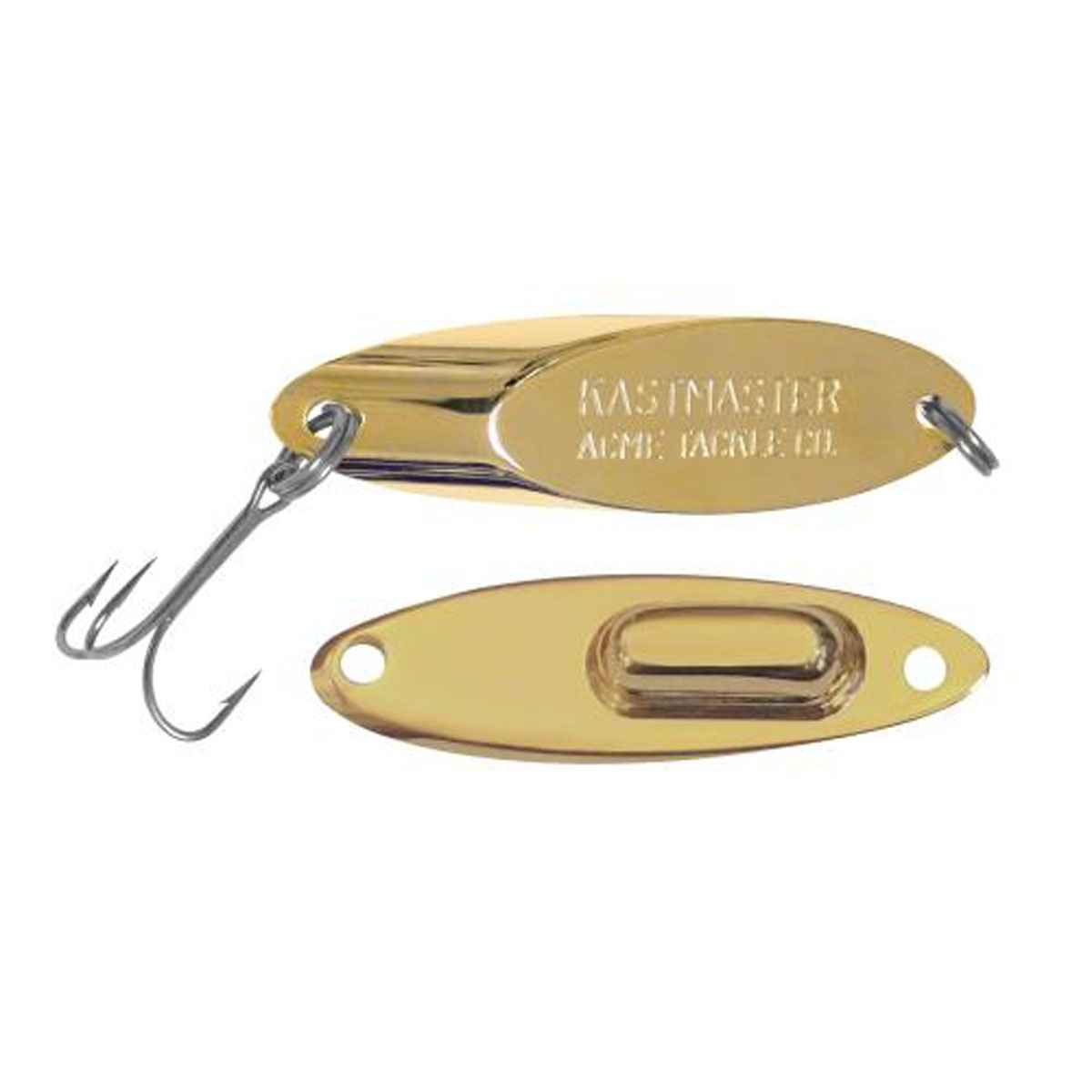 Acme Kastmaster Lure Gold 1//4-Ounce